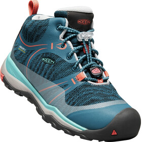 Keen Junior Terradora WP Mid Shoes aqua sea/coral